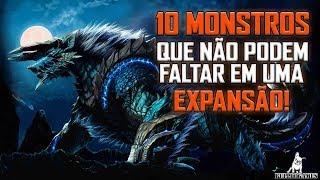 Monster Hunter World - 10 MONSTROS QUE NÃO PODEM FALTAR EM UMA FUTURA EXPANSÃO!