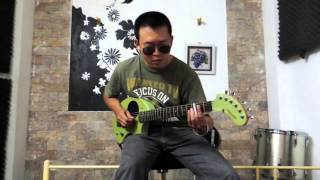 Highway Guitar - Scarr Tissue Final slide solo - Red Hot Chili Peppers