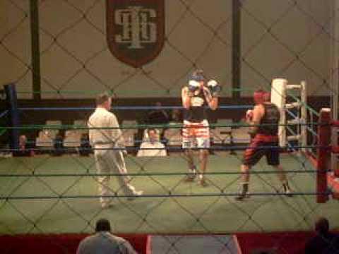 boxingboxe fabio zunino frança - Estréia na liga amadora