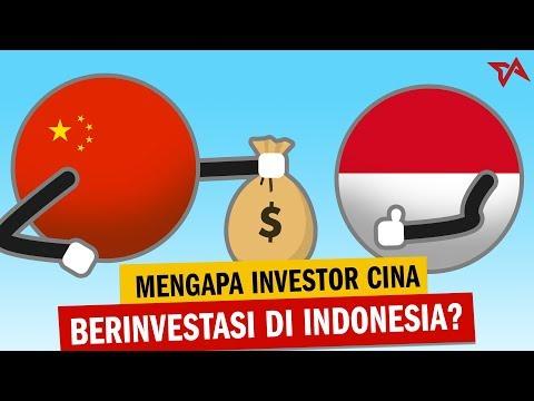 Mengapa Investor Cina Berinvestasi di Indonesia?