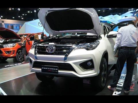 ภาพรถ+ราคา Toyota New FORTUNER TRD Sportivo ในงาน Bangkok Motor Show 2016