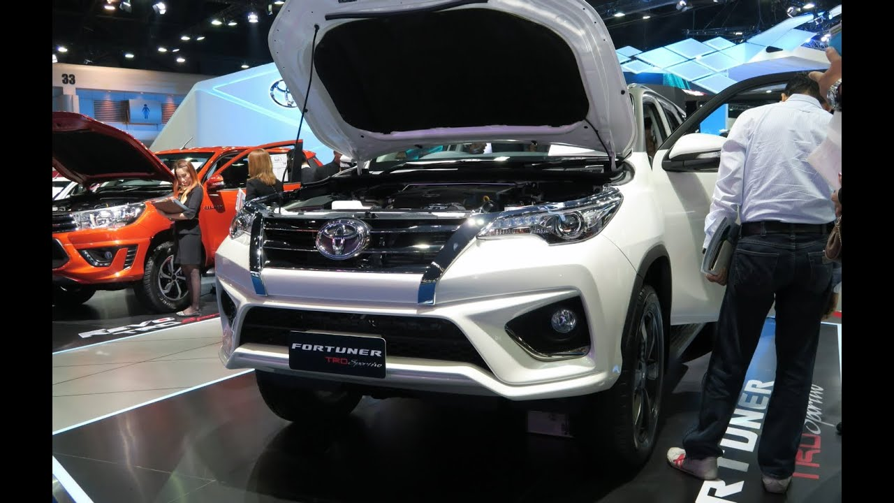 all new yaris trd sportivo 2017 toyota kijang innova 2.4 a/t diesel ภาพรถ 43ราคา fortuner ในงาน bangkok