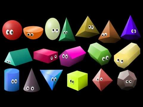 What Shape Is It? 2: 3D Shapes  Learn Geometric Shapes  The Kids Picture Show Fun & Educational