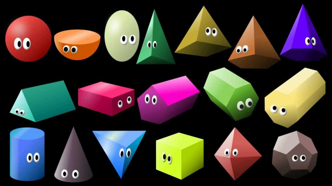 What shape is it 2 3d shapes learn geometric shapes How to make 3d shapes