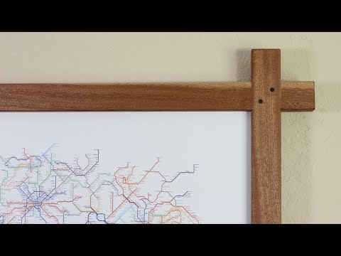 Making a Large Half Lap Picture Frame