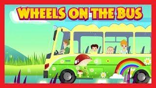 WHEELS ON THE BUS - PETER PAN SONGS || Peter Pan - Wheels On The Bus || Poems and Songs For Kids