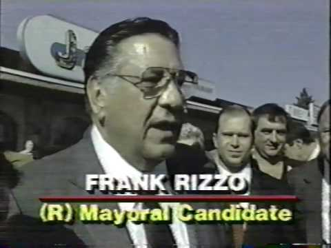Michael Smerconish working on Frank Rizzo's Republican Mayoral Campaign, 1987