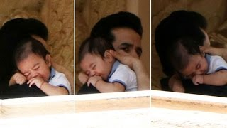 Tusshar kapoor's son lakshaya's first photos leaked