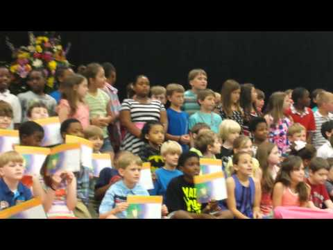 Wetumpka Elementary School Honors day 05 21, 2014