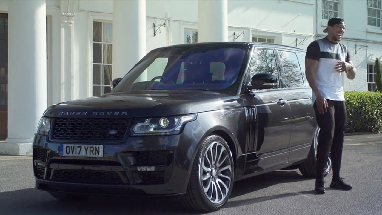 Range Rover Vogue Svo >> Land Rover SVO creates bespoke Range Rover for Anthony Joshua - YouTube