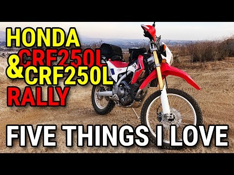 What's the Difference Between Honda's CRF250L and CRF250L Rally?