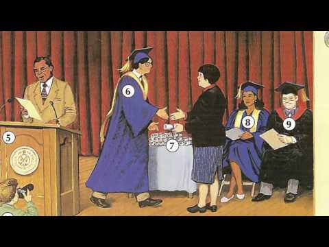 Oxford dictionary | Lesson 22: A Graduation | Learn English | Oxford picture dictionary