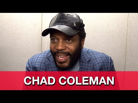 TWD's Tyreese, Fear The Walking Dead, & Tread Water Superhero Series - Chad Coleman Interview