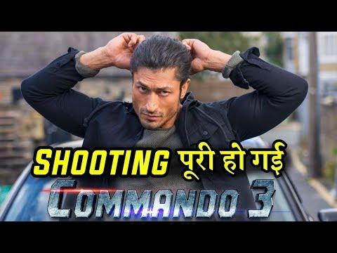 Vidyut Jammwal Wraps the Commando 3 Shooting Mp3
