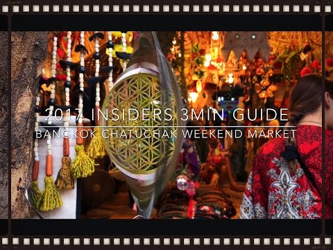 Bangkok's Chatuchak Weekend Market 2017 Insiders 3 Min Guide
