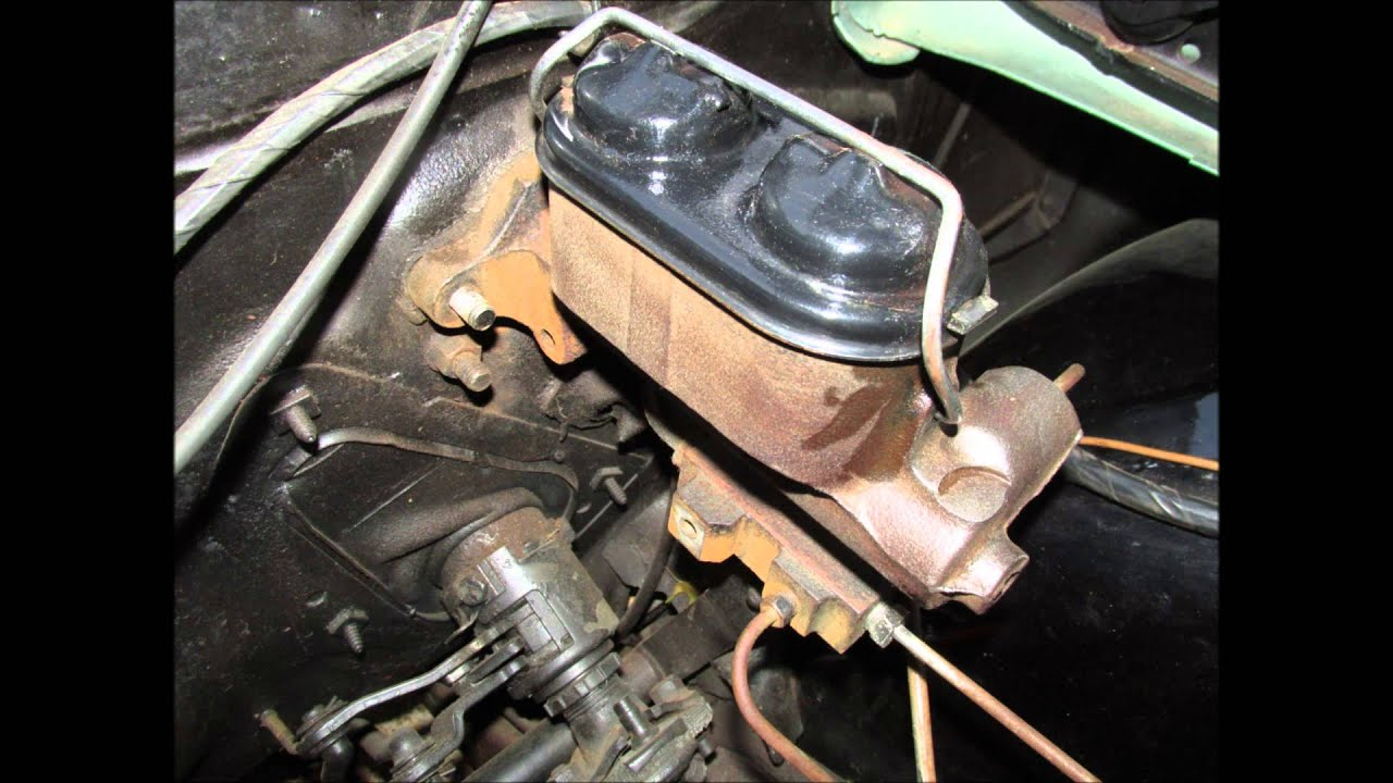 1968 Chevrolet Chevy 2 Nova Master Cylinder Restoration and Documentation