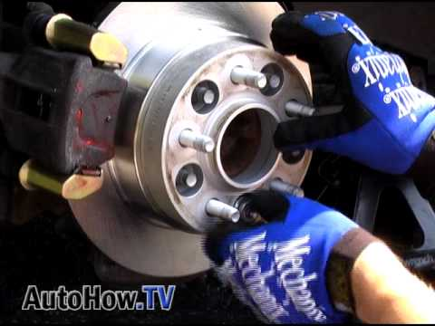 How To Install Wheel Spacers--AutoHow.TV