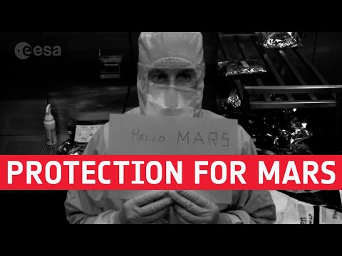 ExoMars  Protection for life on Mars