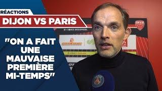 REACTIONS : DIJON vs PARIS SAINT-GERMAIN