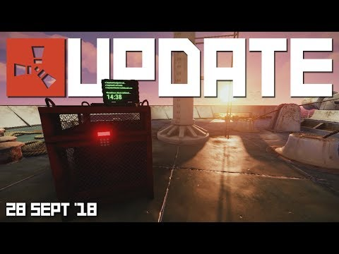 Cargo ship on staging, potatoes & berries | Rust update 28th Sept 2018