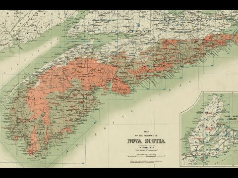 Nova Scotia Gold History and Cartography (1906)