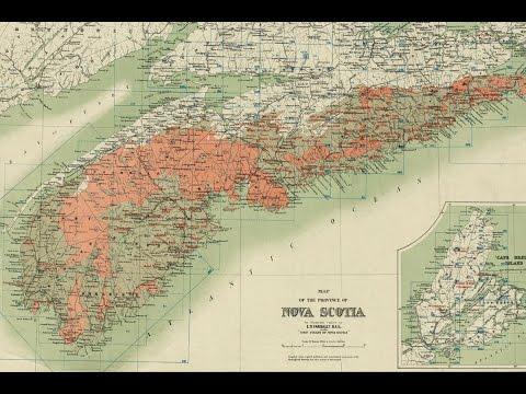 Nova Scotia Gold History And Cartography (1906)