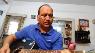 O hansini meri hansini..guitar song by Anil DOM Rly..use headphones.