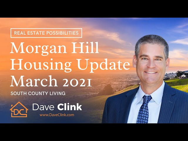 Morgan Hill Housing Update March 2021 | South County Living by Dave Clink