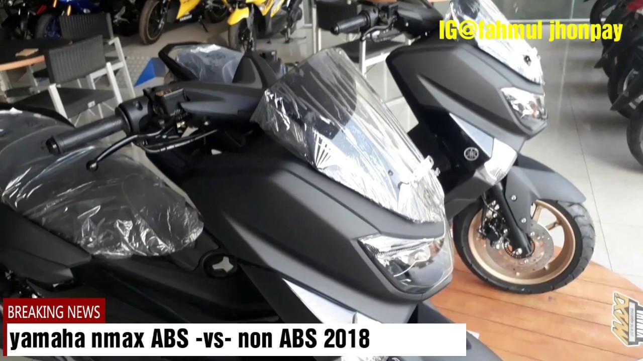 Yamaha Nmax Abs Vs Nmax Non Abs 2018 Youtube