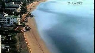 Collaroy Narrabeen Beach Erosion Time Lapse