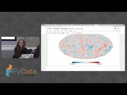 Image from A beginner's guide to data analysis in cosmology using Jupyter Notebook