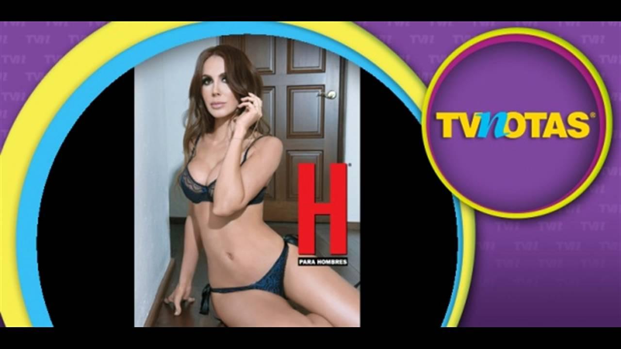 Ana Bekoa H Extremo ana bekoa al natural en la portada de la revista h para