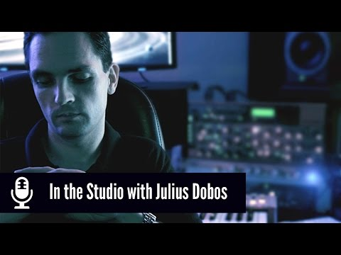 In the Studio with Platinum Electronic Music Producer, Julius Dobos