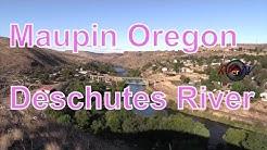 Maupin Oregon...Deschutes River...Scenic Cliffs...Views ...RVerTV