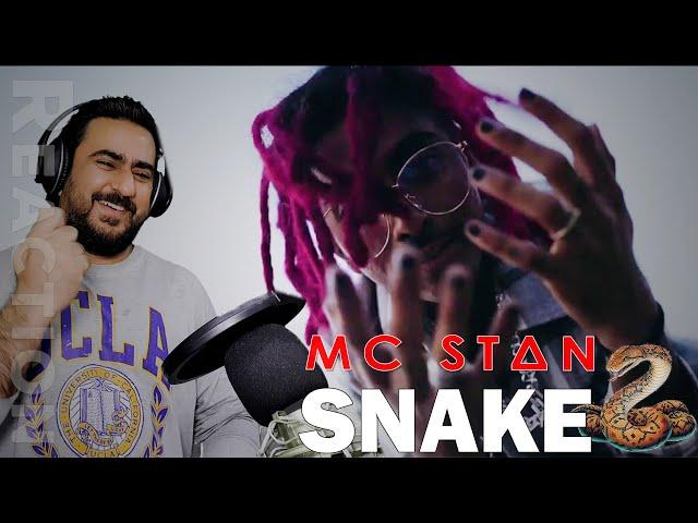 MC STΔN - SNAKE (Official Music Video) | Reaction | IAmFawad