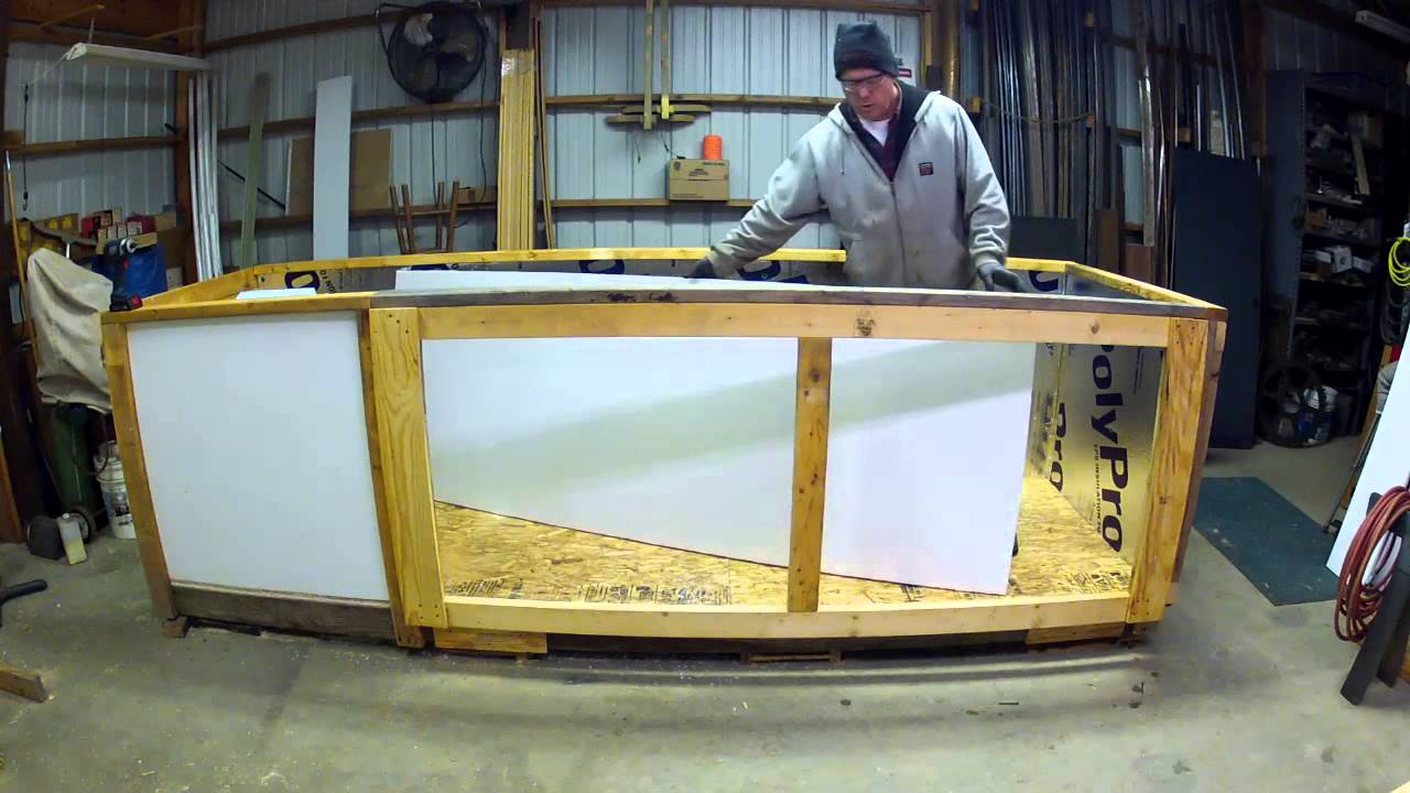 Building a dehumidifier wood kiln