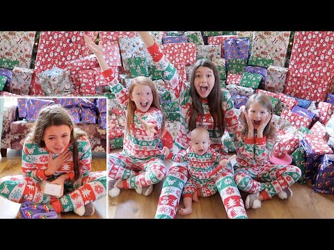 OPENING PRESENTS BRINGS TEARS CHRISTMAS DAY FAMILY SPECIAL