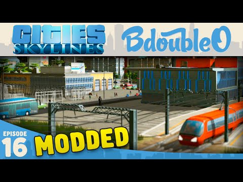 Cities Skylines Mods :: TRANSPORT HUB! Part 16 [Cities Skylines Gameplay]