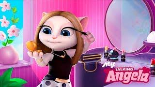 ГОВОРЯЩАЯ КОШКА АНДЖЕЛА ИГРА #26 КОТ ТОМ И АНДЖЕЛА ДРУЗЬЯ - игра мультик про кошечку