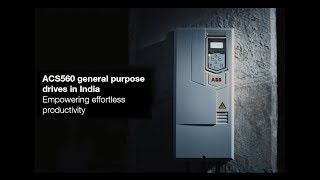 Video: ACS560 reliability video - High reliability long life