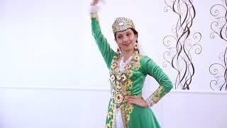 Бухарский танец, урок узбекского танца исполнитель Оксана Быстрова