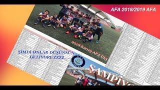 BiR SEZON SERÜVENİ - AFA U13 ...