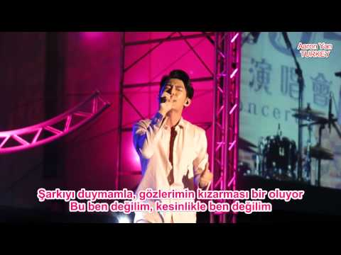 Aaron Yan - That's Not Me Live Performance (Türkçe Altyazılı) [Turkish Sub]