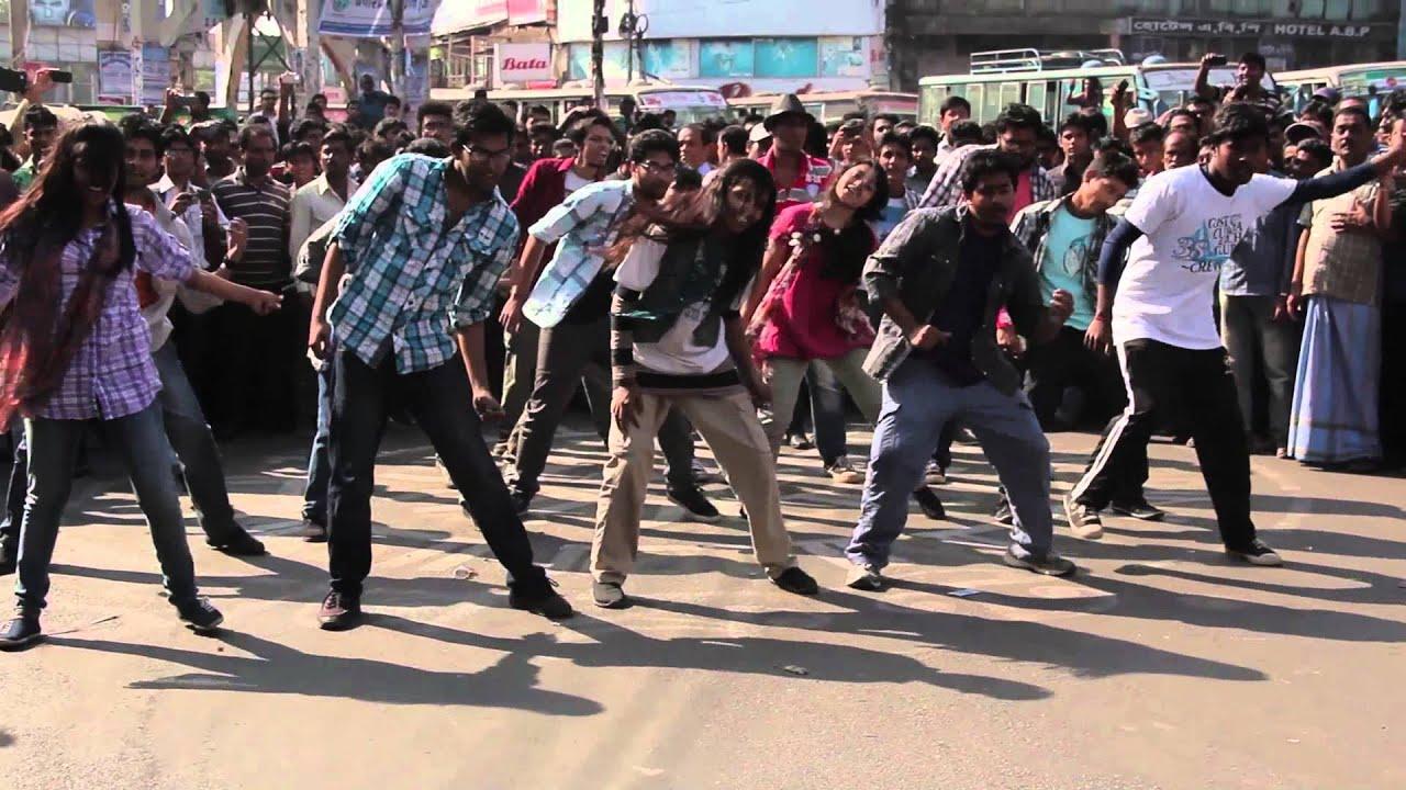 world twenty20 bangladesh 2014 flash mob chittagong university of