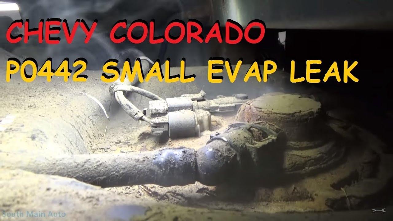 Chevy Colorado  P0442 Small EVAP Leak  YouTube