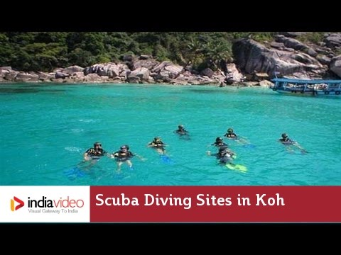 Scuba Diving Sites in Koh Tao, Thailand