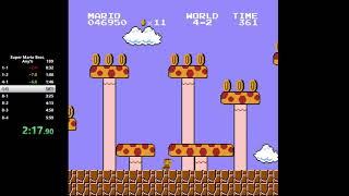[PB] Super Mario Bros. Any% Speedrun in 5:38