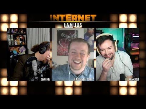 IANAL w/VideoGameAttorney Ryan Morrison - INTERNET FAMOUS #006