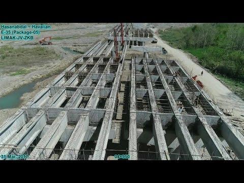 CPEC Motorway progress dated 31 Mar, 2017 from Haripur Hazara to Havalian