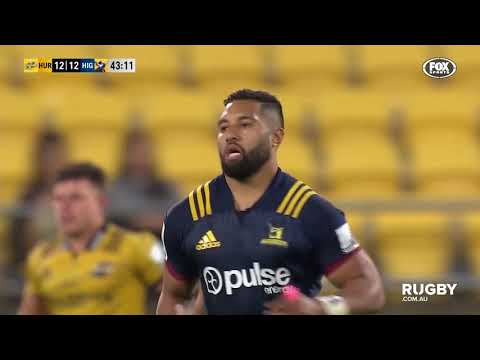 2018 Super Rugby Round Six: Hurricanes vs Highlanders